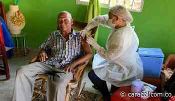 Más de 2.000 vacunas se aplicaron en Santa Catalina, Bolívar - Caracol Radio