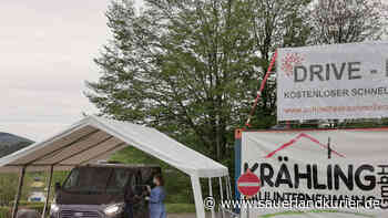 Corona-Test im Drive-In in Schmallenberg - sauerlandkurier.de