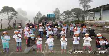 Con mensaje de no a la violencia, en Ubalá, Cundinamarca, hicieron campaña con la niñez - infobae