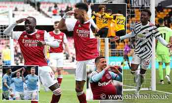 Premier League: Liverpool and Chelsea make Champions League, Tottenham seal Europa Conference League