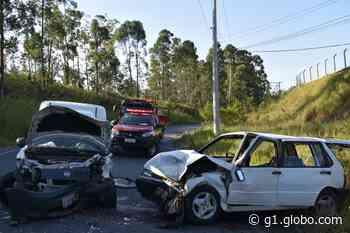 Motorista fica ferido após acidente em avenida de Mairinque - G1