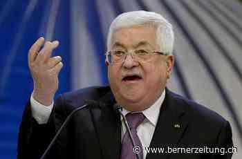 Kommentar zu Palästina und Mahmoud Abbas - Der Präsident verprellt das Volk - BZ Berner Zeitung