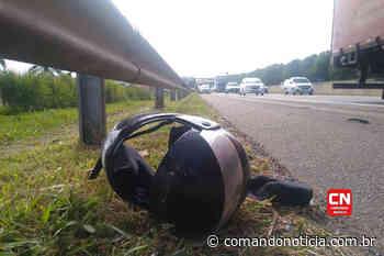 Motociclista fica ferido após acidente na Rodovia Santos Dumont em Indaiatuba - Comando Notícia