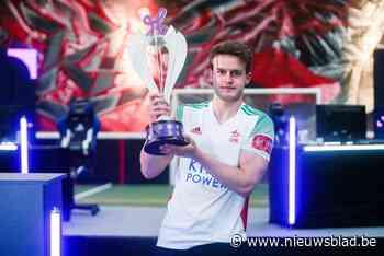 """Reinout (22) maakt Oud-Heverlee Leuven kampioen … op FIFA: """"Eigenlijk speel ik niet zoveel tijdens de week"""" - Het Nieuwsblad"""
