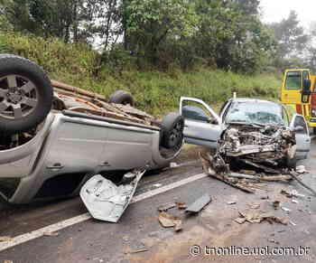 Acidente deixa cinco pessoas feridas na BR-376 em Ortigueira - TNOnline - TNOnline