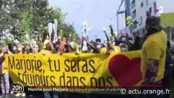 Ivry-sur-Seine : une marche jaune en hommage à Marjorie - Actu Orange