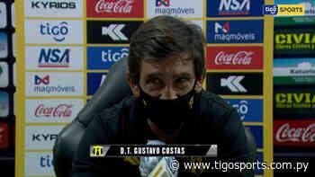 Gustavo Costas habla tras el empate en Villarrica - Tigo Sports