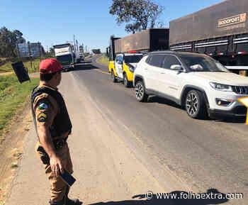 Colisão entre Jeep e carreta deixa motorista ferido em Wenceslau Braz - Folha Extra