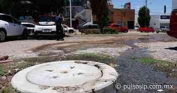 Retiran lodo en drenajes del Pedregal - Pulso Diario de San Luis
