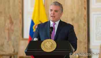 Duque viajó a Chiquinquirá a pedir a virgen del Rosario por paz del país - Caracol Radio