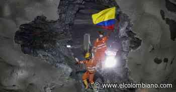 Culminaron las excavaciones en el Túnel de Amagá - El Colombiano