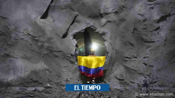 El Túnel de Amaga, en Antioquia, logró la excavación total - El Tiempo