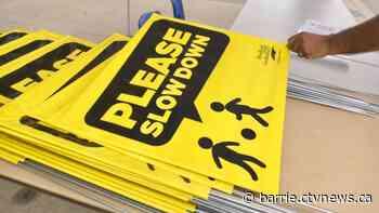 Bradford West Gwillimbury urging residents to 'Please Slow Down' - CTV Toronto