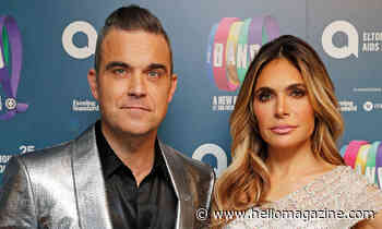 Robbie Williams and Ayda Field share sweet insight into family ritual - HELLO!