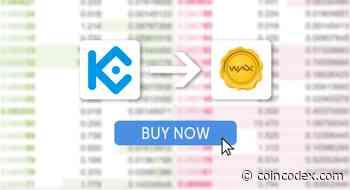 How to buy WAXP (WAX) on KuCoin?   CoinCodex - CoinCodex