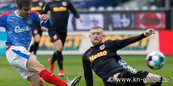 Holstein Kiel zittert vorm Auswärtsspiel in Karslruhe um Fin Bartels - Kieler Nachrichten