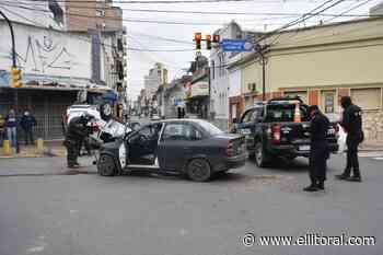 Choque y vuelco en Suipacha y San Jerónimo - El Litoral