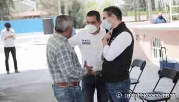 Recorre Alejandro González el distrito local de Mixquiahuala - Noticias de Texcoco