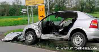Solms Drei Verletzte nach Unfall bei Solms - Mittelhessen