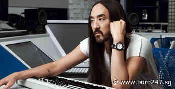 DJ-producer Steve Aoki gets his very own glow-in-the-dark Bulgari Aluminium watch - Buro 24/7 Singapore