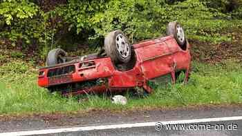 Kierspe/MK: Flüchtiger Autofahrer nach Unfall gefunden - come-on.de