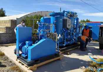 EsSalud Arequipa instala planta de oxígeno en villa Cerro Juli para pacientes con covid-19 - Agencia Andina