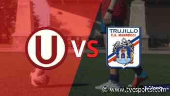 Universitario y Carlos A. Mannucci terminaron sin goles - TyC Sports