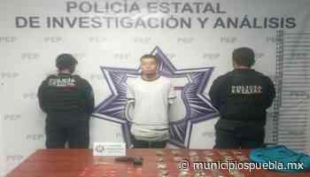 En Arboledas de Guadalupe Policía Estatal detienen a narcomenudista - Municipios Puebla