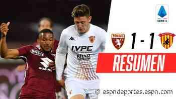 El descendido Benevento no pudo contra Torino de visitante - ESPN Deportes