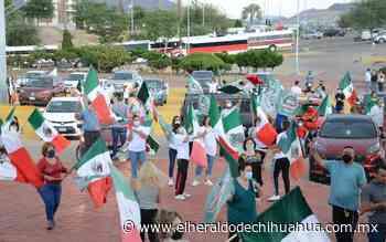 Circulan manifestantes de Frena hasta el Palomar - El Heraldo de Chihuahua