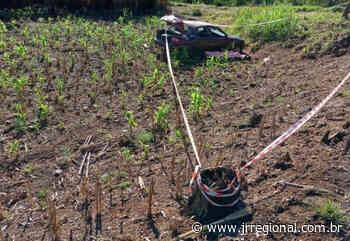 Homem perde a vida em capotamento na SC 283, em Palmitos (SC) - JRTV Jornal Regional