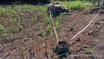 Homem morre após sair da pista na SC 283 em Palmitos - Chapeco.Org