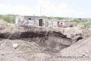 Dejan las minas deterioro urbano - Periódico La Voz