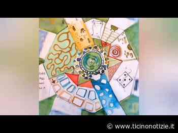 Un grande murales grazie ai giovani di Villa Cortese - Ticino Notizie