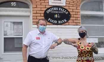 Kinsmen Club donates $5,000 to Smiths Falls food bank - Ottawa Valley News