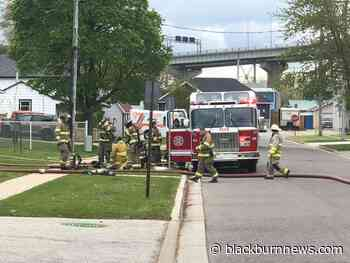 No injuries reported in Point Edward structure fire - BlackburnNews.com