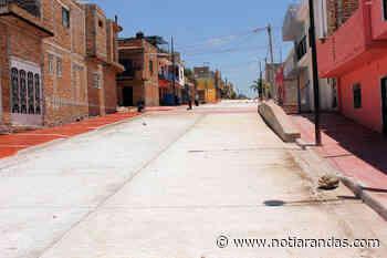 Arandas Concluyen la calle Federación Occidente Noti-Arandasmayo 19, 2021 - NotiArandas