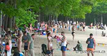 Pierrefonds-Roxboro mayor concerned with overcrowding at Cap St. Jacques Beach - Global News