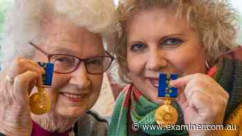 Deloraine's Lexie and Merrilyn Young celebrate their volunteer achievements - Tasmania Examiner