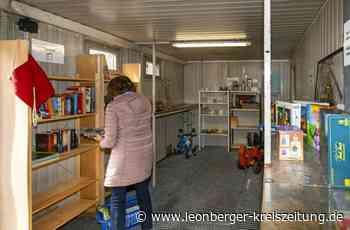 Wertstoffhof Malmsheim: Am Verschenkhäusle kann jeder fündig werden - Leonberger Kreiszeitung