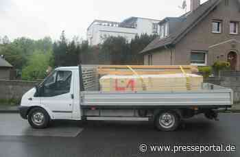 POL-ME: Transporter mit 60 % Überladung unterwegs - Haan - 2105083 - Presseportal.de