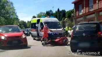 Incidente a Inverigo: tre feriti dopo scontro tra un'auto e una moto - QuiComo