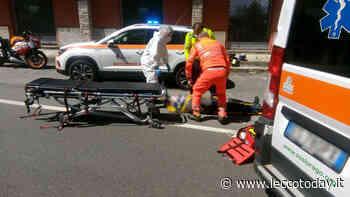 Incidente tra auto e moto ai margini della Statale 36: coinvolte tre persone - LeccoToday