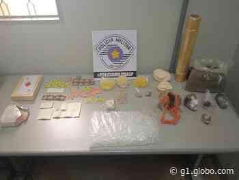 Polícia Miliar apreende K4 e outras drogas em casa de Mococa - G1