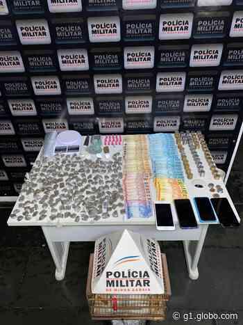 Cinco pessoas são detidas por tráfico de drogas em Curvelo - G1