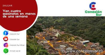 Dos homicidios en zona rural de Salgar - ConexionSur