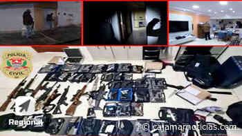 Polícia de Caieiras apreende grande arsenal bélico - Cajamar Notícias