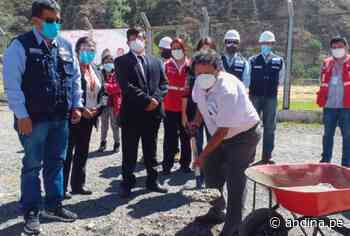Huarochirí: inician construcción de nuevo hospital San Juan de Matucana - Agencia Andina