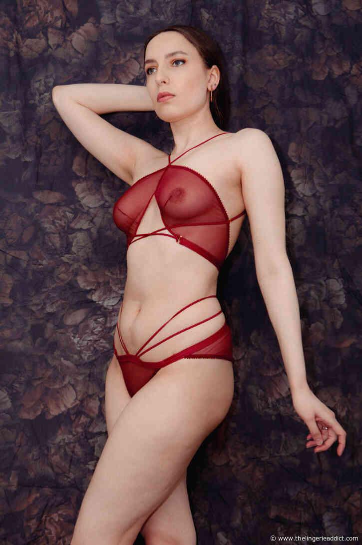 Luxury Lingerie Review: Tisja Damen 'Myth' Bralette & Ouvert Briefs