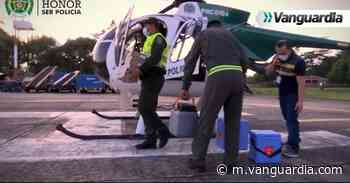 La milimétrica operación helicoportada para llevar vacunas a Barrancabermeja - Vanguardia